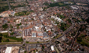 Canterbury from the air