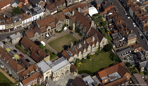 The King's School, Canterbury from the air