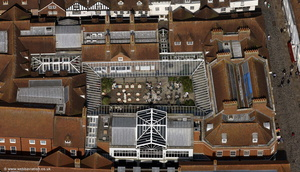 Citi Terrace , Canterbury from the air