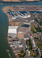 Chatham from the air