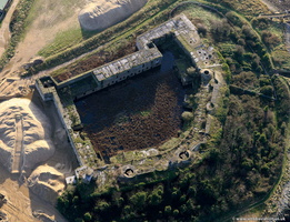 Cliffe Fort  from the air