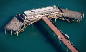Deal Pier from the air