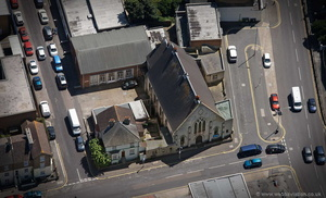 Beacon Church Dover from the air