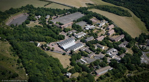 Connaught Barracks, Dover from the air