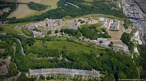 Dover Castle from the air