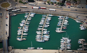 Dover Marina Wellington Dock from the air