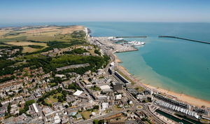 Dover from the air