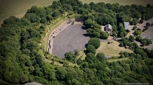 Fort Burgoyne from the air