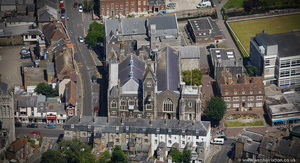 Maison Dieu, Dover from the air