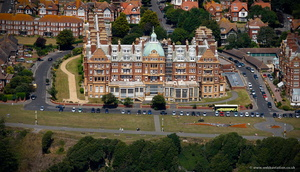the New Metropole Hotel Folkestone  from the air