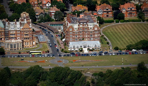 The Grand Hotel Folkestone  from the air