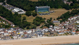 Sandgate from the air