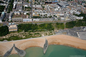 The Leas Folkestone CT20    from the air