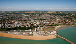 Folkestone  from the air