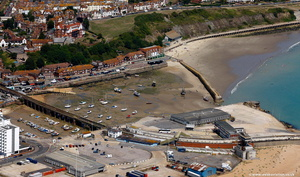 Folkestone Harbour from the air