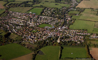 Hadlow Kent from the air