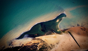 kent dinosaur from the air