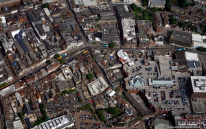 Maidstone town centre  from the air