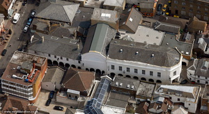 The Market Buildings Maidstone from the air