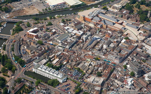 Maidstone  from the air