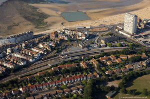 Margate station  from the air