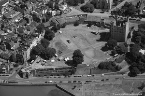 Rochester Castle from the air