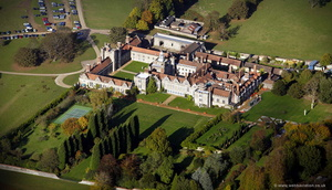 Knole House Sevenoaks from the air