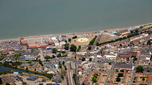 Sheerness Kent  UK  from the air