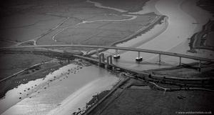 The Sheppey Crossing from the air