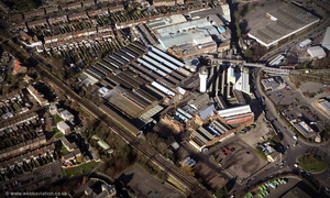 Sittingbourne Paper Mill  from the air