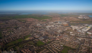 Sittingbourne from the air