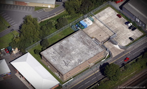 scene of the 2006 Securitas depot robbery from the air
