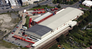 Royal Mail Tonbridge Delivery Office  from the air