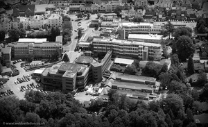 Kent and Sussex Hospital Tunbridge Wells from the air