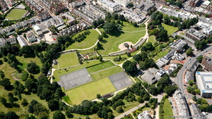Royal Tunbridge Wells Kent England Kent England UK aerial photograph