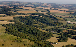 Wye Downs from the air