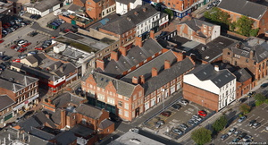 Clarence Arcade Stamford Street Ashton-under-Lyne  from the air