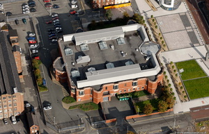 Tameside Magistrates' Court  Ashton-under-Lyne from the air