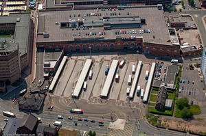 Ashton-under-Lyne bus station from the air