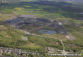 Astley Green Landfuill Tip , Greater Manchester  aerial photograph