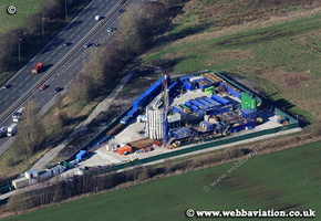 Fracking Barton Moss aerial ic02131