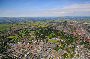 Blackburn Lancashire from the air