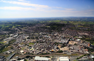Blackburn Lancs from the air