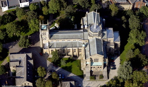 Blackburn Cathedral from the air