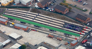 Blackburn King Street TMD Blackburn from the air