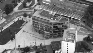 One Cathedral Square  Blackburn from the air