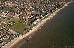 Anchorsholme Coast Protection Scheme Blackpool  aerial photograph