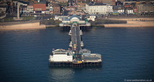 Blackpool North Pier aerial photograph