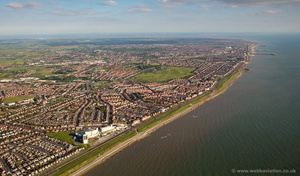 Blackpool North Shore aerial photograph