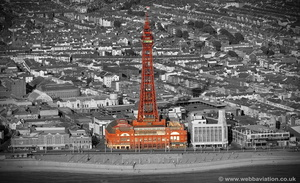 Blackpool Tower aerial photograph